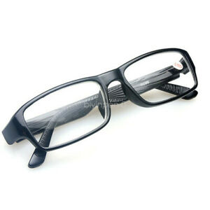 Near-Sight-Glasses-1-00-1-50-to-6-00-Myopia-Eyewear-Trendy-Black-Plastic-Frame