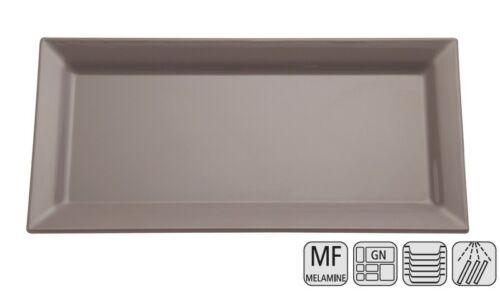 """Serie /""""PURE COLOR/"""" rechteckig Melamin Tablett Farbe und Größe wählbar"""