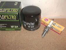 Yamaha Tune up kit Spark Plug + Oil Filter Grizzly 660 YFM660 Hunter 2007 2008