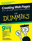 Creating Web Pages All-in-one Desk Reference For Dummies by Richard Mansfield, Richard Wagner (Paperback, 2007)