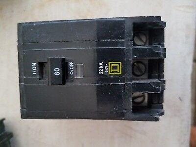 D 22KIC 1 pole 30 amp QO breakers Sq