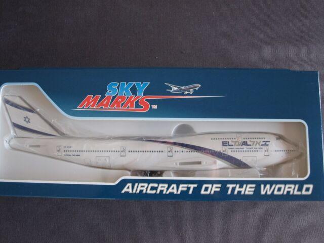 Skymarks El Al 747-400 1//200 W//Gear SKR488