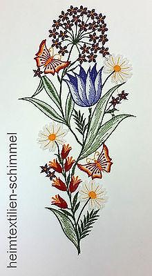 Plauener Spitze ® Fensterbild FrÜhling Dekoration Blumenwiese Sommer Blumen Deko RegelmäßIges TeegeträNk Verbessert Ihre Gesundheit