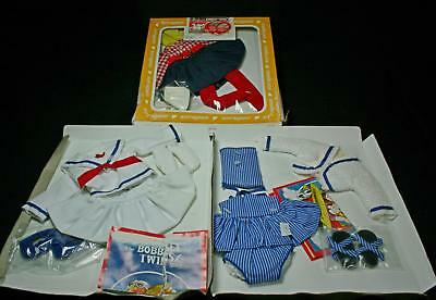 Vintage Effanbee 1982 Bobbsey Twins At Seashore Flossie Clothes Outfit New Box
