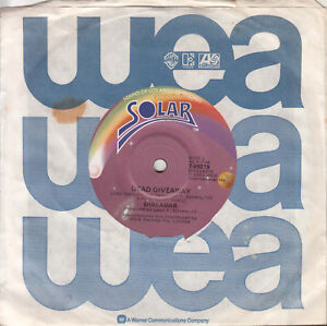 SHALAMAR-Dead-Giveaway-I-Don-039-t-Wanna-Be-The-Last-To-Know-45