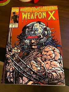 MARVEL-COMICS-PRESENTS-WEAPON-X-79-WOLVERINE-X-MEN-BARRY-WINDSOR-SMITH-1991