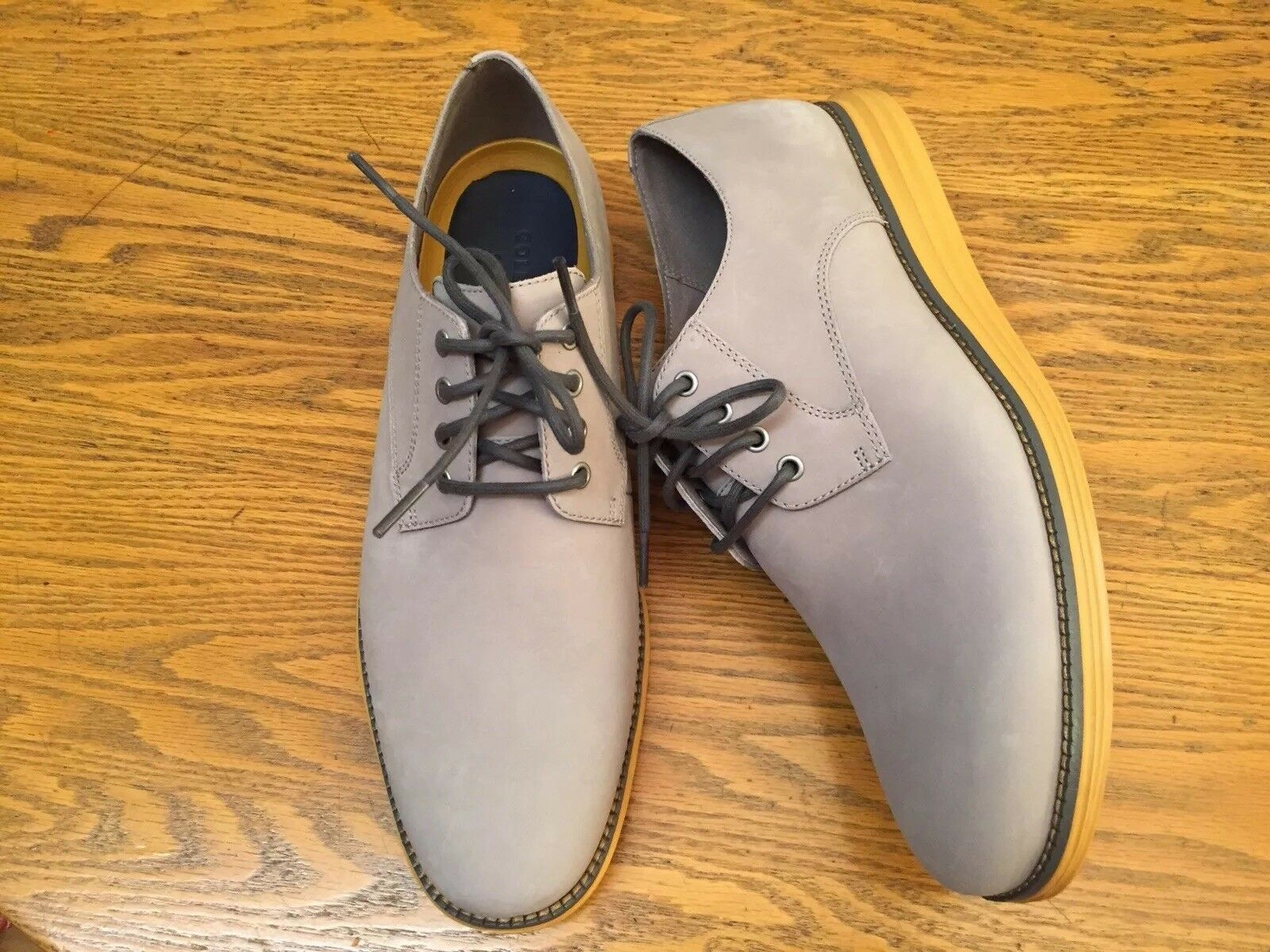 COLE HAAN GRAND ORIGINAL Plain Toe Oxford Chaussures C27443 neuf sans boîte Taille 10