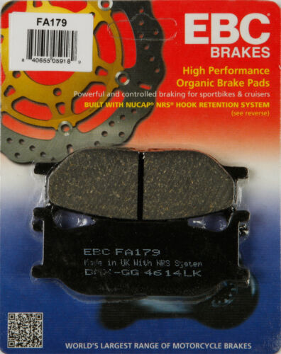 Fa EBC Brake Pads for 2005 Yamaha Xvs 65A V-Star 650 Classic Disc Brake Pad Set