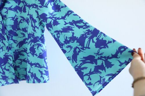 astratta taglia Small donna con Giacca Nwot Blazer S blu da Elsaesser stampa Hayley 6vZp0