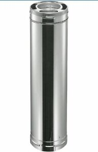 Details about DuraVent Triple Wall Chimney Wood Stove Pipe Insulated Liner
