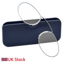 af82631f36 item 6 Unisex Reading Glasses Pince Nez Style Clamp Nose Pinching With Case  1.0 to 3.5 - Unisex Reading Glasses Pince Nez Style Clamp Nose Pinching  With ...