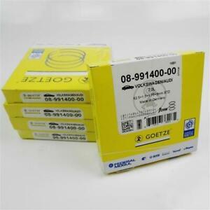 5x Piston Rings Audi 2,3l 2.3 5 Cylinder 82,5mm Götze Nf Aar NG 08-991400-00