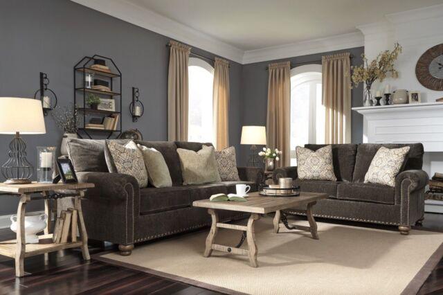 Ashley Furniture Stracelen Sofa And, Ashley Living Room Furniture