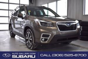 2021 Subaru Forester Limited | HEATED LEATHER SEATS | DUAL CLIMATE | PUSH BUTTON START