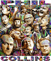 phil Collins Tribute T-shirt Or Print By Ed Seeman