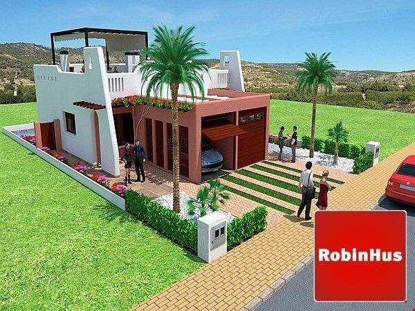 26 helt nye minimalistiske funkis villaer i bakkerne bag Fuengirola og  Benalmadena, udbydes nu til salg til yderst favorable priser.