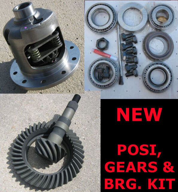 """Motive OEM Ring and Pinion Gear Set GM 8.875/"""" 12 Bolt Truck 4.56 Install Kit"""