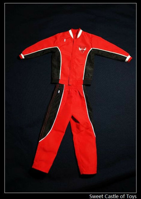 1/6 Accessory Set Hot Red Warm Up Suit Michael Jordan | Enterbay 23 45 Jacket