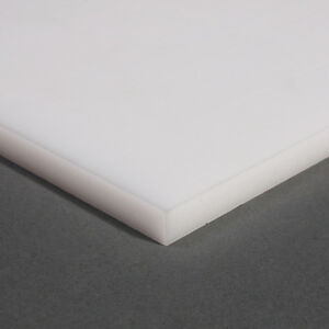 Cut Plate from Pom - C Black u. White Thick 25mm Pom Acetal 342,90 ²