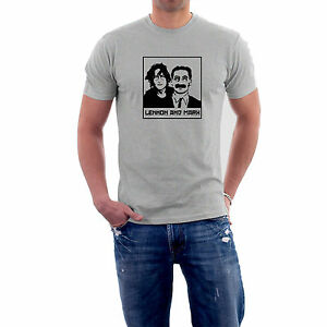 John-Lennon-amp-Groucho-Marx-T-Shirt-or-Hoodie-S-5XL-The-Generic-Logo-Company
