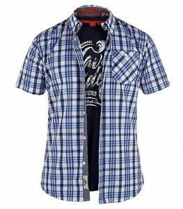 D555 Camiseta - Manga Corta - Para Hombre 4nVeWhs