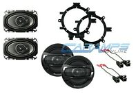 Pioneer 3-way For Extended & Regular Cab Truck Stereo Front & Rear Speakers on sale