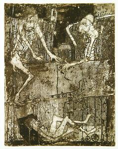 DDR-Kunst-1984-Aquatinta-Wolfgang-DOMROSE-1948-D-handsigniert-numm-1-10