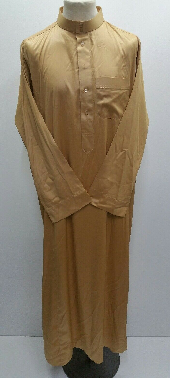 Nusuki Saoudien Style Thobe ,Juba ,Robe Arabe,Dishdash Islamique Clothing.size