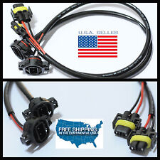 2504 H16 to H11 880 881 H8 BULB Convert Harness Socket Plug Adapter power wire