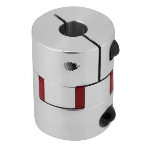 7-13MM Aluminio Aleación CNC eje flexible de acoplamiento de ciruela Acoplador codificar conectar