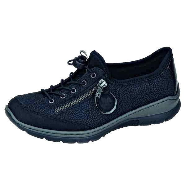 Rieker nuevo zapatos señora zapatos sneakers l3263-00, negro,  nuevo Rieker 0c61be