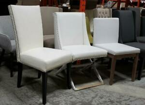 Large Collection of White Chairs, Modern, Classic, Contemporary, Rustic @ ARTeFAC Toronto (GTA) Preview