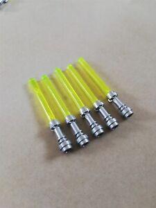 LEGO-bulk-starwars-trans-yellow-light-saber-packs-WEAPONS-FOR-MINIFIGURES