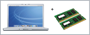 "2GB+4GB Memory Ram Upgrade Apple MacBookPro-3.1 17/"" Late 2007 2.6GHz A1229 6GB"