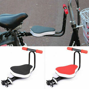 Bike-Front-Seat-Thickened-Padded-Child-Bicycle-Kids-Chair-Seat-Foldable-security