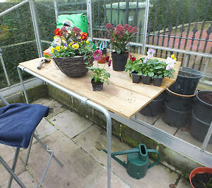 Greenhouse Potting Bench Multi Purpose Staging 4ft X 2ft