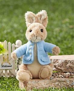 GUND-BEATRIX-POTTER-PETER-RABBIT-PLUSH-CHARACTER-COLLECTIBLE-EASTER-TOY-GIFT