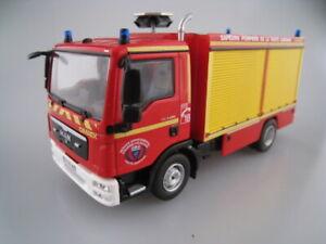 Autos, Lkw & Busse Man Tgl 8.220 Firetruck France Feuerwehr Ixo/atlas 1:43 Ovp