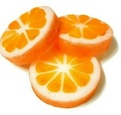 Soap Mold Lemon-Lime-Orange Citrus Fruit Chocolate Mold