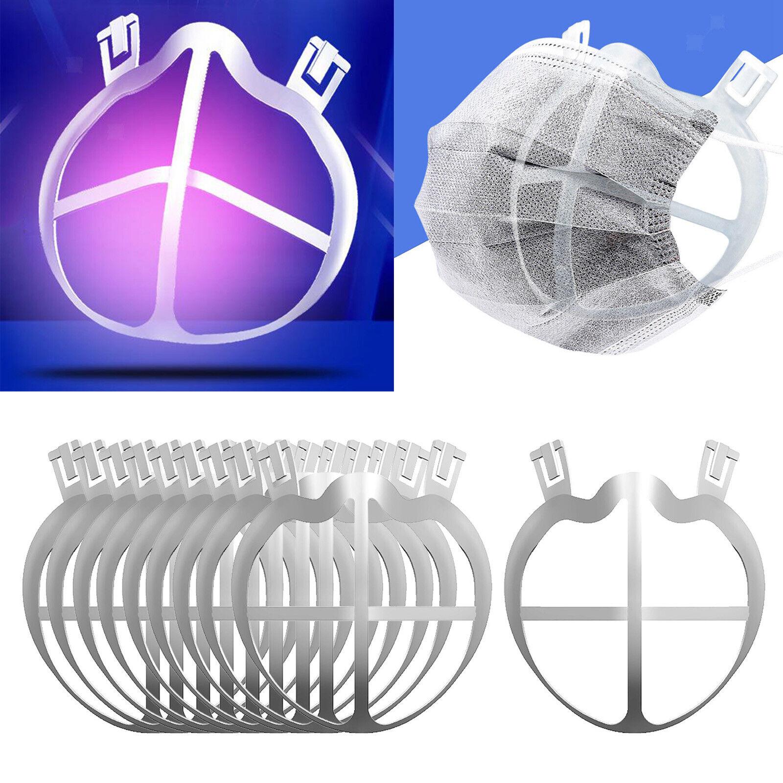 10Pcs Face Mask Bracket Internal Support Breathing Rack Breathable Frame