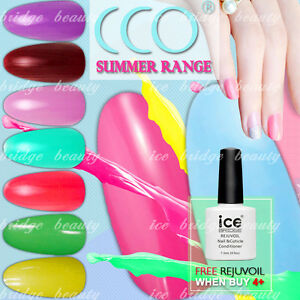 Cco New 2018 Summer Range Uv Led Nail Bright Colorful Colours Gel
