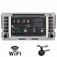 Car DVD GPS Player 3G Navi Radio RDS For Hyundai santa fe elantra Free camera