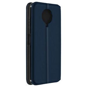 Cuir synthétique Cover Classic Edition, Klappetui pour Nokia g10/g20 – Bleu foncé