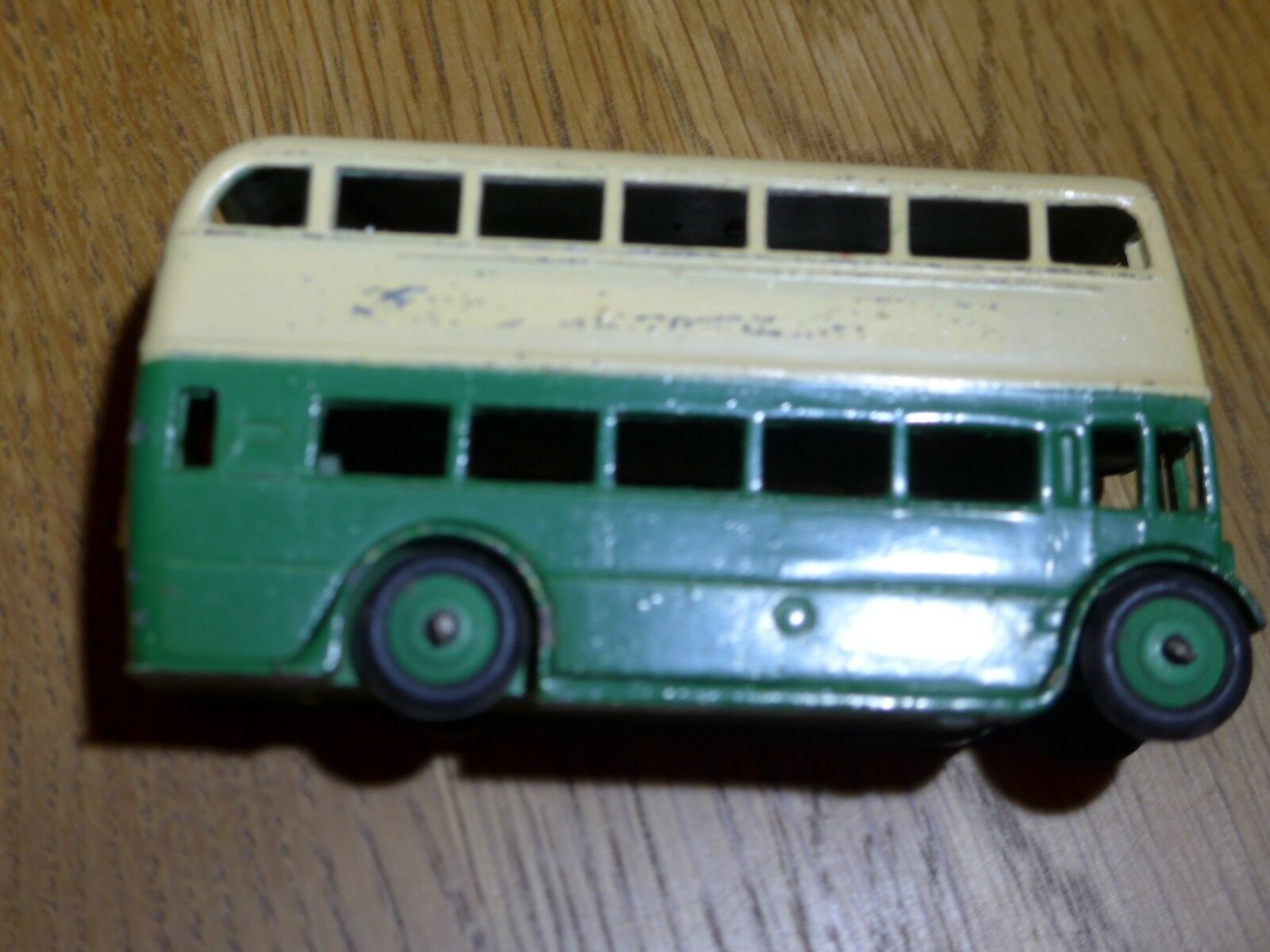 Dinky Toys WAR POST WAR Toys 2 Tone Double Decker Bus 3be98d
