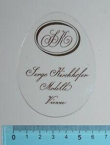 ADESIVO-VINTAGE-STICKER-AUTOCOLLANT-ANNI-039-80-SERGE-KIRCHHOFER-VIENNE-6x8-cm