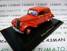 TRA16 voiture 1/43 atlas traction NOREV :  traction Light Fifteen 1951