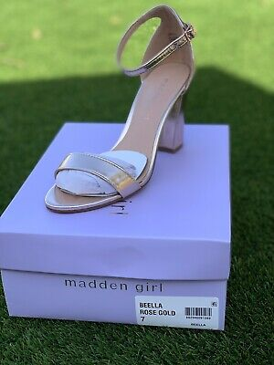 Madden Girl Bella Ankle Strap Dress