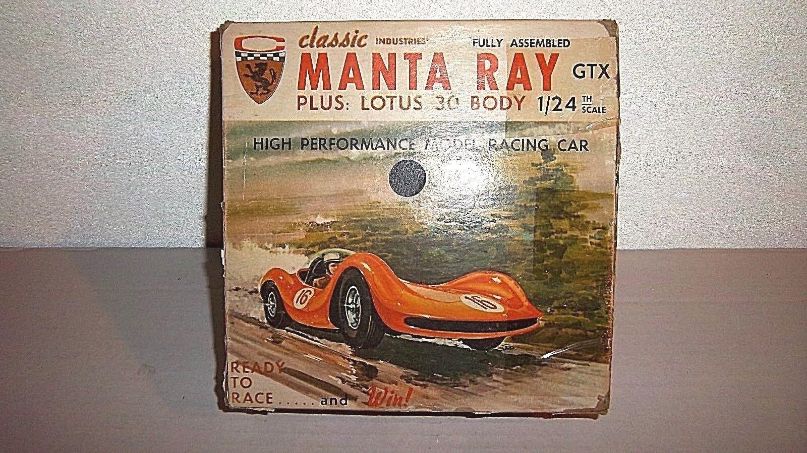 Vintage mantarochen gtx   lotus 30 (2 stellen), high - performance - slot car kit