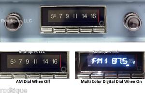 1960-1963 Chevy Truck Bluetooth Stereo Radio Muti Color