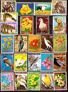 GUINEA-Gerente-de-Rep-Proteccion-la-nature-flores-animales-pajaros-H7
